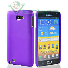 Pellicola+Custodia back cover VIOLA per Samsung Galaxy Note 1 N7000 i9220 rigida