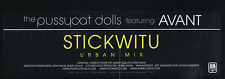 PUSSYCAT DOLLS Stickwitu (2005 U.S. Double Side A Promo 12inch)