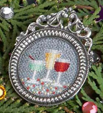 Silver BROOCH Display for Cross Stitch Embroidery NEW (Brooch only/Design N/A)