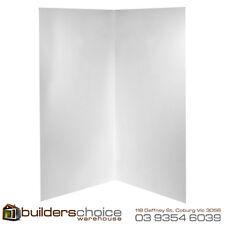 Acrylic White Shower Wall 820x820x2000mm