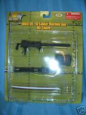 ULTIMATE SOLDIER MACHINE GUN AIR COOL 1:6 SCALE *NEW*