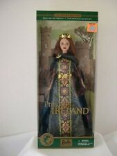 Barbie Dolls of the World Princess of Ireland NIB MINT