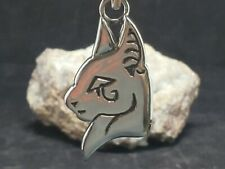 Egyptian cat ,high polished, Pendant Necklace,925 sterling silver, new #2