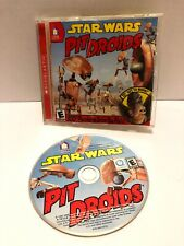 "VINTAGE ""PIT DROID PANDEMONIUM"" CD-ROM COMPUTER GAME 2002 - PC/MAC *RARE*"