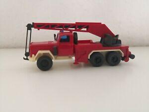 WIKING H0 1:87 Magirus Kranwagen Feuerwehr aus Sammlung