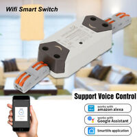 Wifi Smart Switch Remote Control Wireless Timer Light Switch Intelligent New