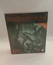 WOLFENSTEIN 3D PC with Bonus: SPEAR OF DESTINY * BRAND NEW * RARE *COLLECTABLE*