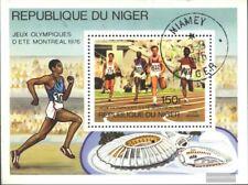 Níger Bloque 15 (edición completa) usado 1976 olímpicos. Juegos, Montreal