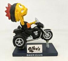 Kenosha Kingfish Biker Elvis Mascot Harley Davidson Bobblehead Figurine #1 FP20