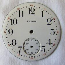 Elgin Railroad Pocket Watch Dial, 16S