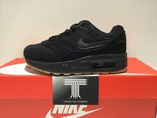 "3b83cfd76e Nike Air Max 1 (PS) ~ ""Triple Black"" ~807603 008 ~"