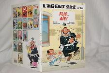 L'AGENT 212 N°16-FLIC...AIE !-KOX CAUVIN 1994