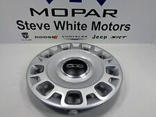 12-17 Fiat 500 15 Inch Steel Wheel Silver New Hub Cap Center Cover Mopar Oem