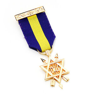 Order of Secret Monitor 1st Degree Breast Jewel OSM with a Jewel Wallet