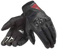 Dainese Motorrad Handschuhe MIG C2 Größe M schwarz atmungsaktiv Sommer NEU