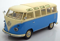 KKS 180151 180152 180153 VW T1 SAMBA BUS models red or blue/cream red/black 1:18