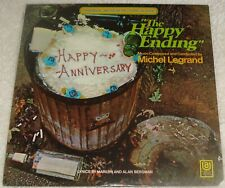 THE HAPPY ENDING (Michel Legrand) original near mint USA stereo lp (1969)