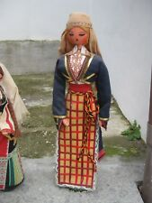 bambola doll bulgara Bulgaria Balgarija Sofia costume vintage anni 60 altezza 53