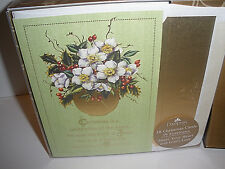 "Dayspring Christmas Cards Christmas is a Celebration..."" 18 Cards 19 Envelopes"