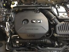 MINI F56 COMPLETE ENGINE 2.0 TURBO PETROL COOPER S SEE RUNNING IN CAR 2015-17
