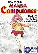 More How To Draw Manga Computones Vol. 2 Humans by Kento Shimazaki NEW