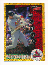 Mark McGwire 1999 Ultimate Victory Parallel 1/1 Missing Serial Number #162