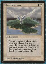Island Sanctuary Alpha HEAVILY PLD White Rare MAGIC CARD (ID# 130851) ABUGames