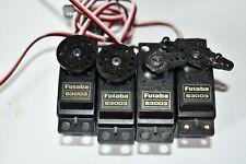 Lots 4 servos Futaba S 3003