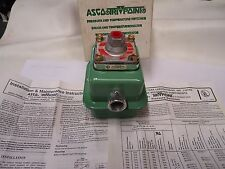 "ASCO PC21B PRESSURE SWITCH WITH A RD20A11 TRANSDUCER ""NEW"""