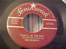 The Crickets (Buddy Holly) GREAT AUDIO - That'll Be The Day - Brunswick 9-55009