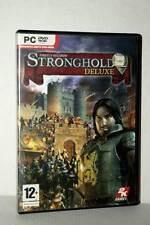 STRONGHOLD 2 DELUXE GIOCO USATO OTTIMO STATO PC DVD VERSIONE ITALIANA RS2 46122