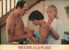 ARIELE DOMBASLE ERIC ROHMER PAULINE A LA PLAGE 1983 VINTAGE LOBBY CARD #3
