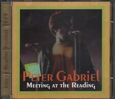 "PETER GABRIEL - RARO CD ITALY ONLY 1994 "" MEETING AT THE READING "" PHIL COLLINS"