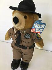 Florida Highway Patrol Patriot Plush Bear Junior Trooper Police -24 available