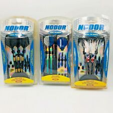 NODOR Steel Tipped Darts with Carrying Case Advanced Series. 300, 450, 600