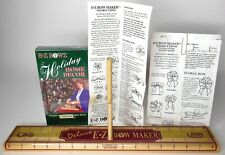 Vintage 1993 Deluxe EZ Bowz Maker Holiday Home Decor VHS Instructions Sealed