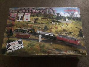 VINTAGE Marklin Delta 29425 HO Scale Train Set Complete OB Germany 1996/1997