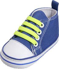 Playshoes Babyschuh Canvas Turnschuh Jeansblau