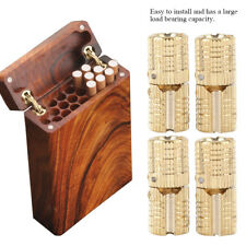 4 X Brass Jewelry Box Hidden Invisible Concealed Barrel Hinge 180° Opening Angle