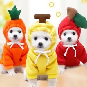 Dog Winter Warm Clothes Cute Plush Coat Hoodies for Bulldog Pet Costume Jacket