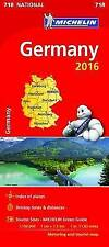 Germany 2016 National Map 718 (Michelin Road Atlases & Maps)