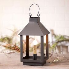 Country new small Black tin electric square Lantern light / nice