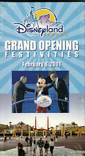 """DISNEYLAND RESORT""...""GRAND OPENING FESTIVITIES""....NEW THEME PARK SOUVENIR VHS"