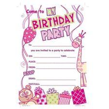 Inviti e carta da lettere animali compleanno bambino per feste e occasioni speciali