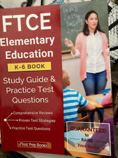 Ftce Elementary Education K-6 Book: Study Guide & Practice Test Questions by…
