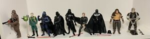 Star Wars Figure Lot Of 9 Figures! Vader, Tarkin, Luke, Dengar, Loose!