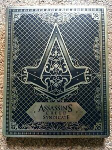 Assassin's Creed Syndicate Steelbook Case Only Xbox One PS4 VGC Metal Case