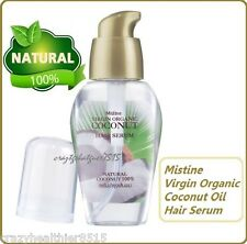 2X MISTINE VIRGIN ORGANIC COCONUT OIL HAIR SERUM Natural Dry Damaged Hair 35 ml.