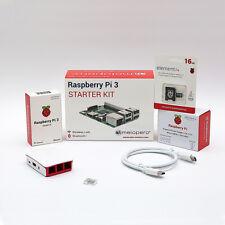 Raspberry Pi 3 Official Starter Kit White 16 GB (M08)