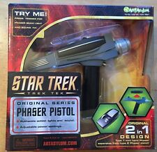 Star Trek Art Asylum Original Series Classic Black Handle Phaser Toy Prop Pistol